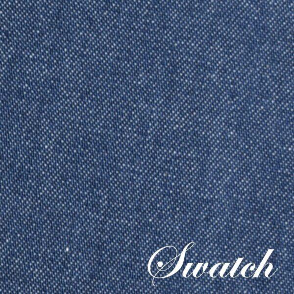 Sweet Pea Linens - Darker Blue Denim 54 inch Square Table Cloth (SKU#: R-1008-B26) - Swatch