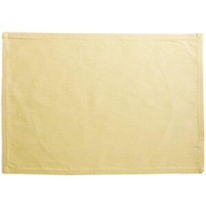 Sweet Pea Linens - Wheat Denim Rectangle Placemats - Set of Two (SKU#: RS2-1002-B3) - Product Image
