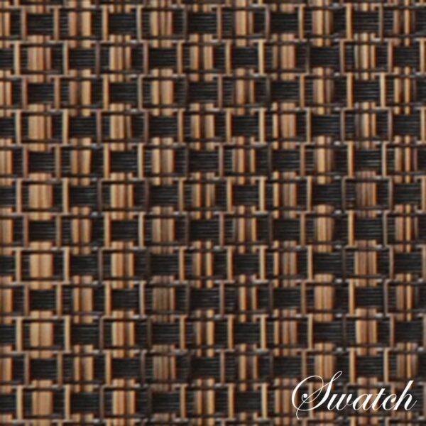 Sweet Pea Linens - Driftwood (Black & Tan) Wipe Clean 72 inch Table Runner (SKU#: R-1024-F14) - Swatch
