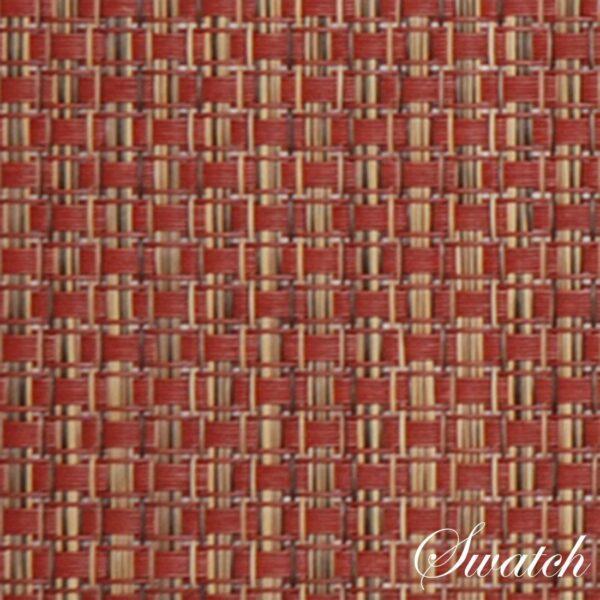Sweet Pea Linens - Redwood (Brick & Tan) Wipe Clean 72 inch Table Runner (SKU#: R-1024-F15) - Swatch