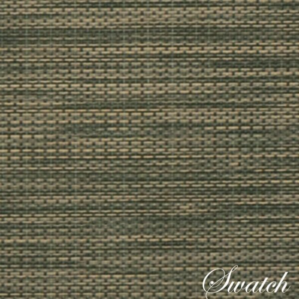 Sweet Pea Linens - Green/Tan Wipe Clean Charger-Center Round Placemat (SKU#: R-1015-F16) - Swatch