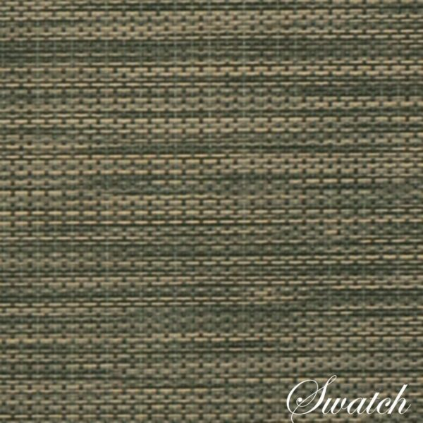 Sweet Pea Linens - Green/Tan Wipe Clean Rectangle Placemats - Set of Two (SKU#: RS2-1002-F16) - Swatch