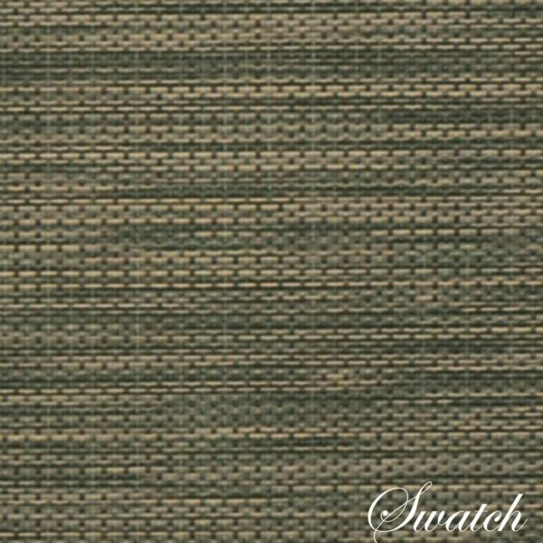 Sweet Pea Linens - Green/Tan Wipe Clean Wedge-Shaped Placemats - Set of Two (SKU#: RS2-1006-F16) - Swatch
