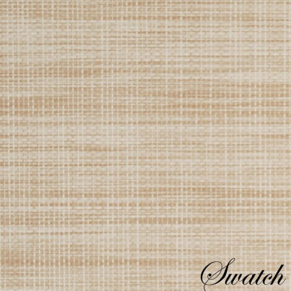 Sweet Pea Linens - Cream/Tan Wipe Clean Charger-Center Round Placemat (SKU#: R-1015-F17) - Swatch
