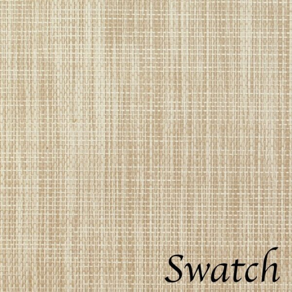 Sweet Pea Linens - Cream/Tan Wipe Clean Wedge-Shaped Placemats - Set of Four plus Center Round-Charger (SKU#: RS5-1006-F17) - Swatch