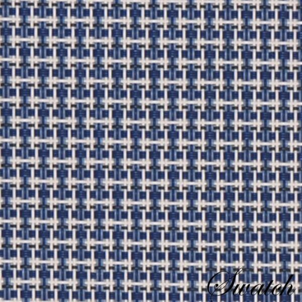 Sweet Pea Linens - Blue/White Wipe Clean Rectangle Placemats - Set of Two (SKU#: RS2-1002-F18) - Swatch