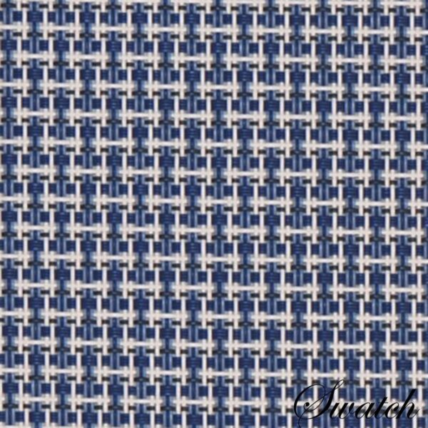 Sweet Pea Linens - Blue/White Wipe Clean Wedge-Shaped Placemats - Set of Four plus Center Round-Charger (SKU#: RS5-1006-F18) - Swatch