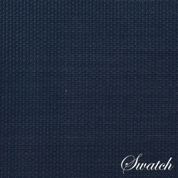 Sweet Pea Linens - Dark Blue Wipe Clean Rectangle Placemats - Set of Four plus Center Round-Charger (SKU#: RS5-1002-F21) - Swatch