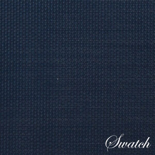 Sweet Pea Linens - Dark Blue Wipe Clean Wedge-Shaped Placemats - Set of Four plus Center Round-Charger (SKU#: RS5-1006-F21) - Swatch