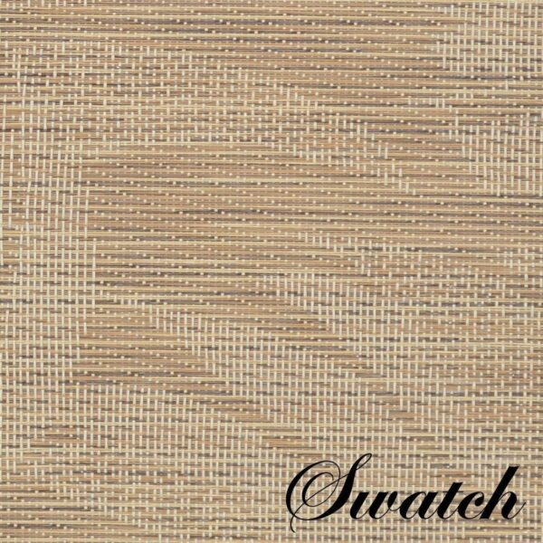Sweet Pea Linens - Tan Tonal Leaf Wipe Clean Rectangle Placemats - Set of Four plus Center Round-Charger (SKU#: RS5-1002-F28) - Swatch