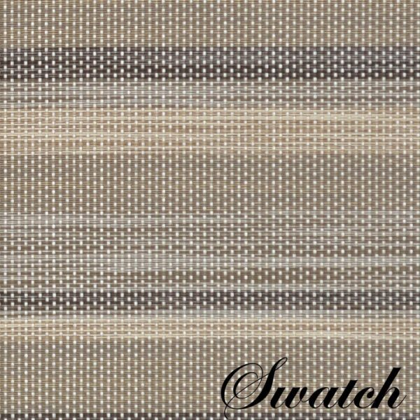 Sweet Pea Linens - Verde Striped Wipe Clean Rectangle Placemats - Set of Two (SKU#: RS2-1002-F29) - Swatch