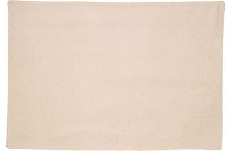 Sweet Pea Linens - Golden Yellow Tan Leather Look Rectangle Placemats - Set of Two (SKU#: RS2-1002-G2) - Product Image