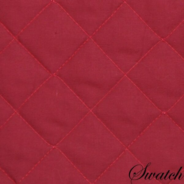Sweet Pea Linens - Berry Quilted Charger-Center Round Placemat (SKU#: R-1015-H3) - Swatch