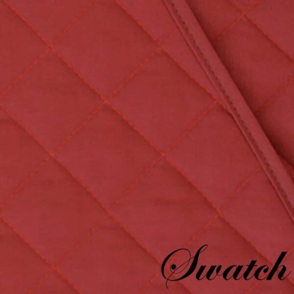 Sweet Pea Linens - Berry Quilted Wedge-Shaped Placemats - Set of Four plus Center Round-Charger (SKU#: RS5-1006-H3) - Swatch
