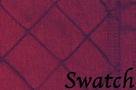Sweet Pea Linens - Burgundy Wine Pintucked Napkin Ring (SKU#: R-1030-K1) - Swatch