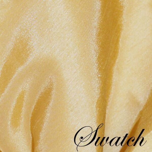 Sweet Pea Linens - Gold Shantung Cloth Napkin (SKU#: R-1010-K2) - Swatch