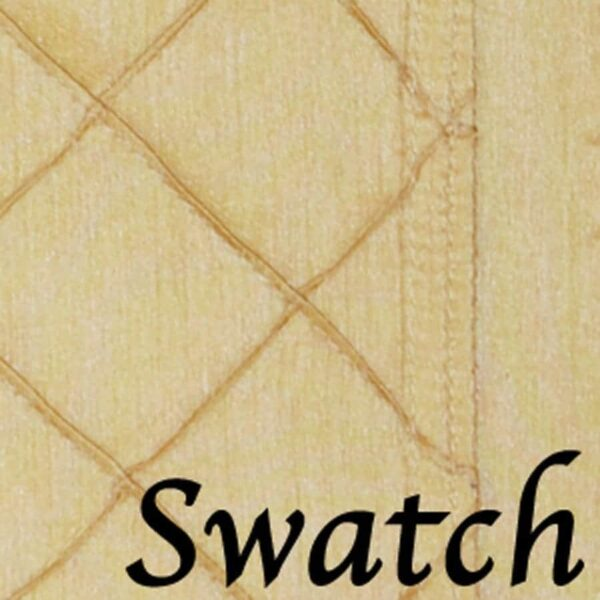 Sweet Pea Linens - Gold Pintucked Wedge-Shaped Placemats - Set of Two (SKU#: RS2-1006-K2) - Swatch