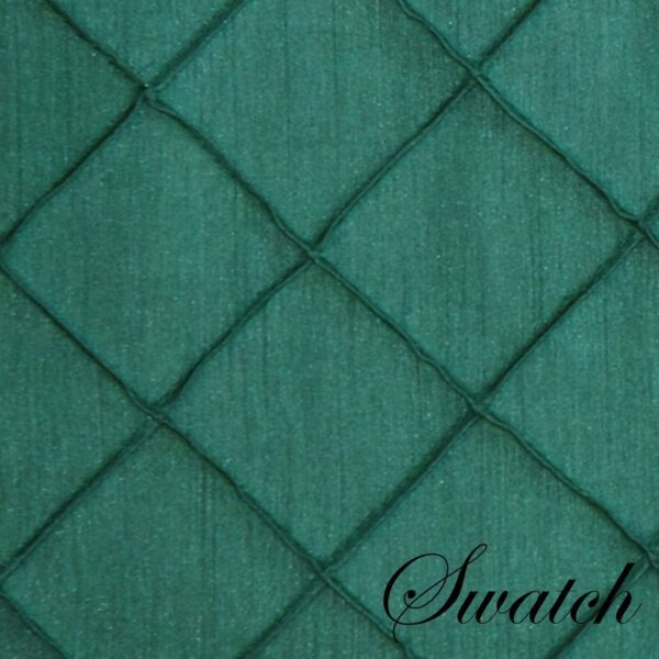 Sweet Pea Linens - Forest Green Shantung 72 inch Table Runner (SKU#: R-1024-K3) - Swatch