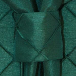Sweet Pea Linens - Forest Green Pintucked Napkin Ring (SKU#: R-1030-K3) - Product Image