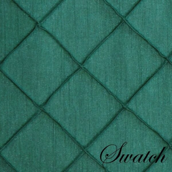 Sweet Pea Linens - Forest Green Pintucked Napkin Ring (SKU#: R-1030-K3) - Swatch