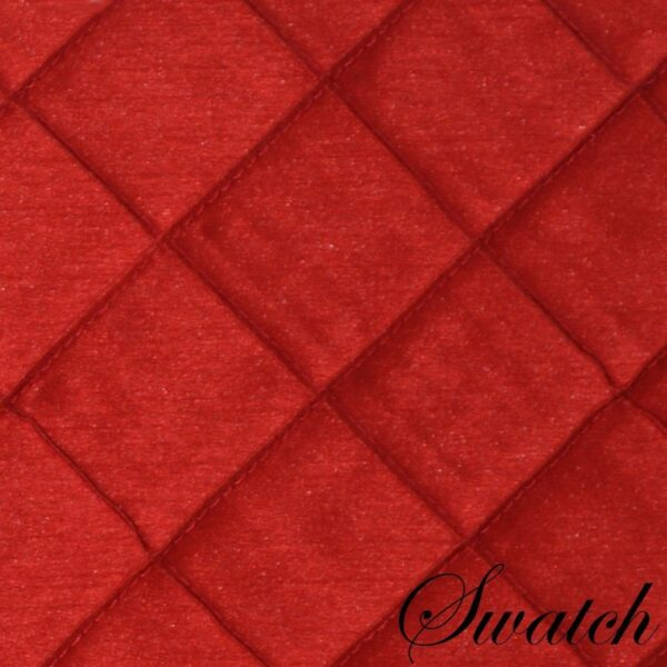 Sweet Pea Linens - Red Pintucked 72 inch Table Runner (SKU#: R-1024-K4) - Swatch