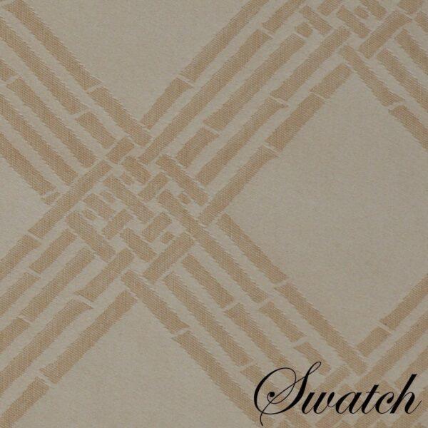 Sweet Pea Linens - Tan Lattice Jacquard Cloth Napkin (SKU#: R-1010-L21) - Swatch