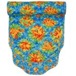 Sweet Pea Linens - Yellow-Blue Tropical Print Floral Print 54 inch Table Runner (SKU#: R-1020-M6) - Product Image