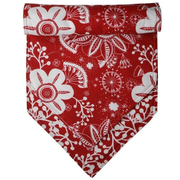 Sweet Pea Linens - Red Floral & Vine Print 54 inch Table Runner (SKU#: R-1020-P5) - Product Image