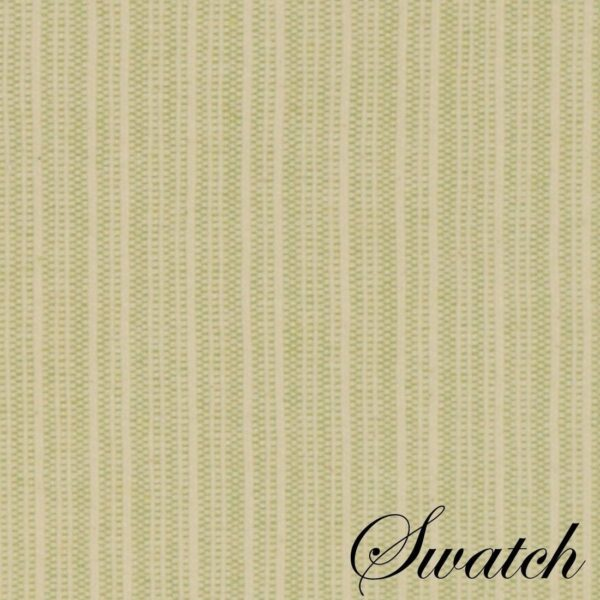 Sweet Pea Linens - Green & Tan Canvas Striped Rectangle Placemats - Set of Two (SKU#: RS2-1002-R4) - Swatch
