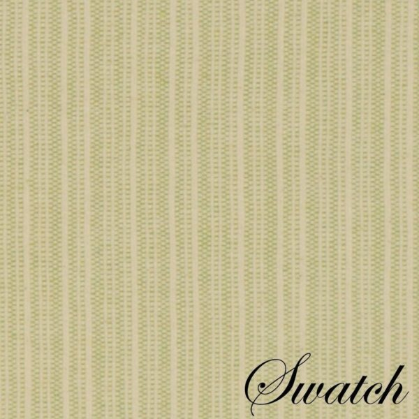 Sweet Pea Linens - Green & Tan Canvas Striped Wedge-Shaped Placemats - Set of Two (SKU#: RS2-1006-R4) - Swatch
