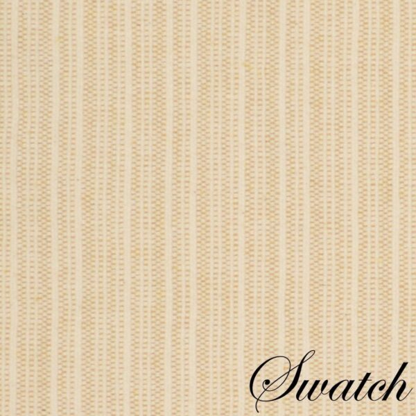 Sweet Pea Linens - Golden Yellow & Tan Canvas Striped 70 Inch Table Runner (SKU#: R-1023-R5) - Swatch