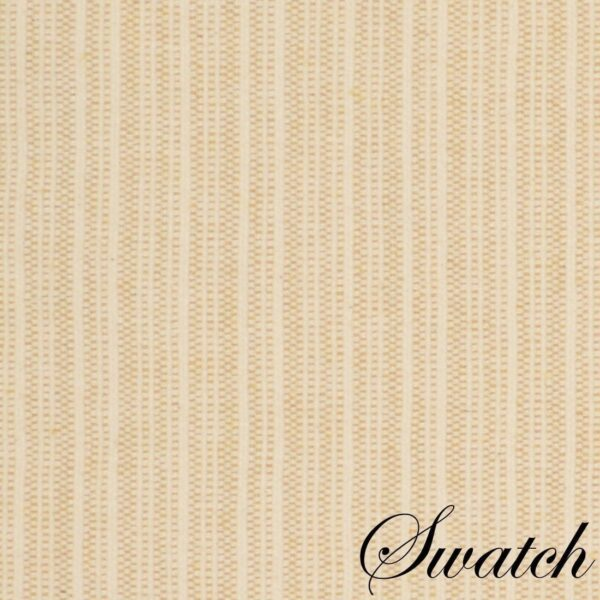 Sweet Pea Linens - Golden Yellow & Tan Canvas Striped Rectangle Placemats - Set of Two (SKU#: RS2-1002-R5) - Swatch