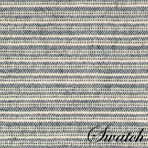 Sweet Pea Linens - Black & Tan Canvas Striped 70 Inch Table Runner (SKU#: R-1023-R6) - Swatch
