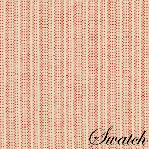 Sweet Pea Linens - Red & Tan Canvas Striped 70 Inch Table Runner (SKU#: R-1023-R8) - Swatch