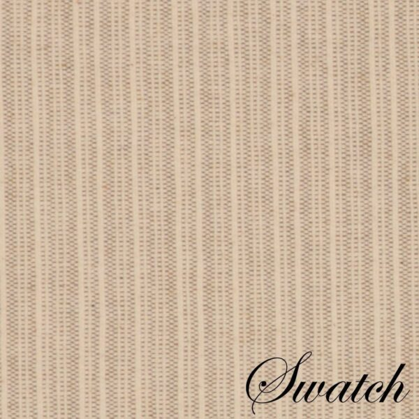 Sweet Pea Linens - Taupe & Tan Canvas Striped 70 Inch Table Runner (SKU#: R-1023-R9) - Swatch