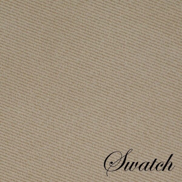 Sweet Pea Linens - Beige Crypton Twill Rectangle Placemats - Set of Four plus Center Round-Charger (SKU#: RS5-1002-U6) - Swatch