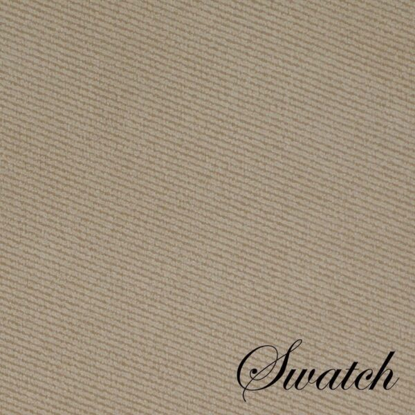 Sweet Pea Linens - Beige Crypton Twill Wedge-Shaped Placemats - Set of Four plus Center Round-Charger (SKU#: RS5-1006-U6) - Swatch