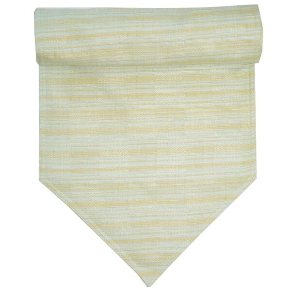 Sweet Pea Linens - Pale Blue Check Textured 54 inch Table Runner (SKU#: R-1020-U7) - Product Image