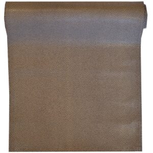 Sweet Pea Linens - Brown & Tan Dot Vinyl Wipe Clean 72 inch Table Runner (SKU#: R-1024-V2) - Product Image