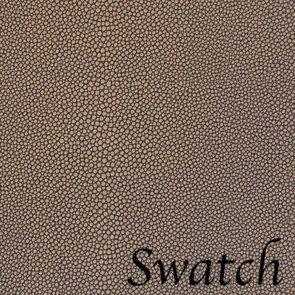 Sweet Pea Linens - Brown & Tan Dot Vinyl Wipe Clean 72 inch Table Runner (SKU#: R-1024-V2) - Swatch