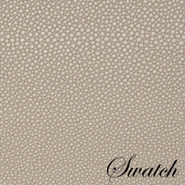 Sweet Pea Linens - Tan Dot Vinyl Wipe Clean Oval Placemats - Set of Four (SKU#: RS4-1040-V3) - Swatch