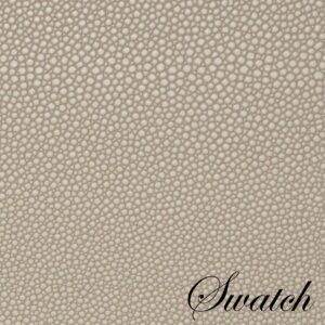 Sweet Pea Linens - Tan Dot Vinyl Wipe Clean Charger-Center Round Placemat - Set of Six (SKU#: RS6-1015-V3) - Swatch
