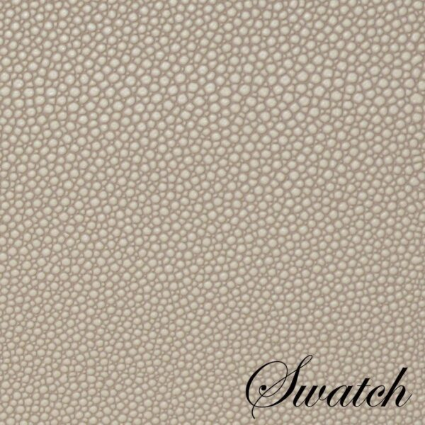 Sweet Pea Linens - Tan Dot Vinyl Wipe Clean Oval Placemats - Set of Six (SKU#: RS6-1040-V3) - Swatch