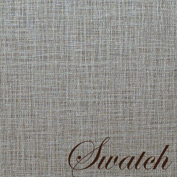 Sweet Pea Linens - Silver & Grey Vinyl Wipe Clean Rectangle Placemats - Set of Four (SKU#: RS4-1002-V7) - Swatch