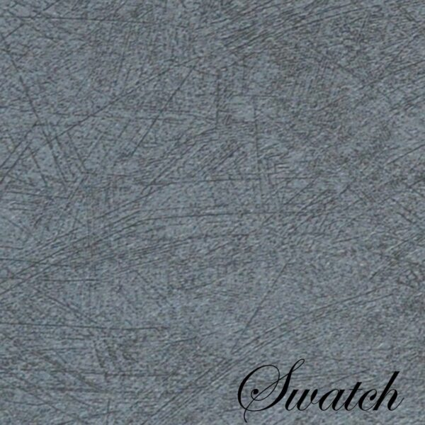Sweet Pea Linens - Dusty Blue Vinyl Wipe Clean Charger-Center Round Placemats - Set of Six (SKU#: RS6-1015-V9) - Swatch