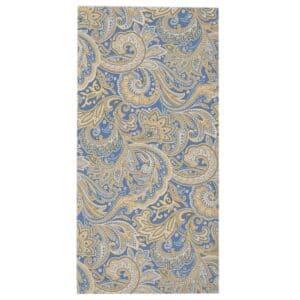 Sweet Pea Linens - Blue Paisley Print Cloth Napkin (SKU#: R-1010-W5) - Product Image