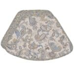 Sweet Pea Linens - Quilted Blue & Beige Paisley Print Wedge-Shaped Placemats - Set of Two (SKU#: RS2-1006-W5) - Product Image