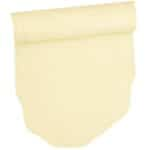 Sweet Pea Linens - Solid Ivory Quilted Jacquard  72 inch Table Runner (SKU#: R-1024-Y2) - Product Image