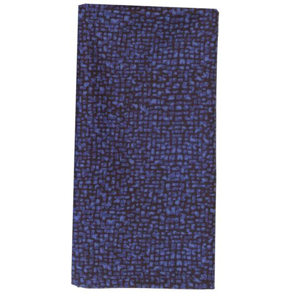 Sweet Pea Linens - Dark Royal Blue Cobblestone Rolled Hem Cloth Napkin (SKU#: R-1010-Y30) - Product Image