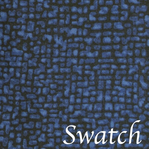 Sweet Pea Linens - Dark Royal Blue Cobblestone Rolled Hem Cloth Napkin (SKU#: R-1010-Y30) - Swatch